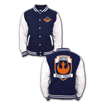Star Wars Baseball Varsity Jacket Justice Rebel Forces