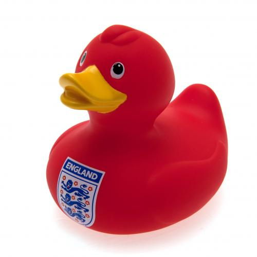 England F.A. Bath Time Duck Red