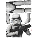 Star Wars Wall Decor Stormtrooper 100 x 70 cm