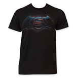BATMAN vs. Superman Men's Black Tee Shirt