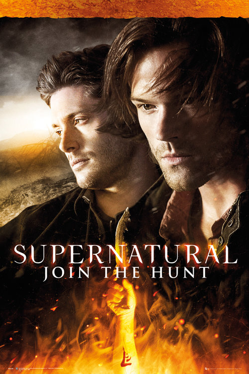 Supernatural Fire Maxi Poster