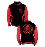 Marvel Comics Baseball Varsity Jacket Hydra Logo