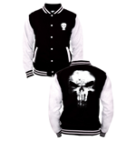 Marvel Comics Baseball Varsity Jacket Punisher Logo