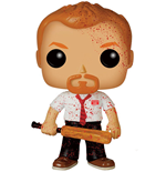 Shaun of the Dead POP! Movies Vinyl Figure Shaun Bloody Variant 9 cm