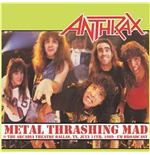 Vynil Anthrax - Metal Thrashing Mad
