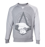 ASSASSIN'S CREED Syndicate Adult Male The Rooks Crew Neck Sweater, Extra Large, Grey