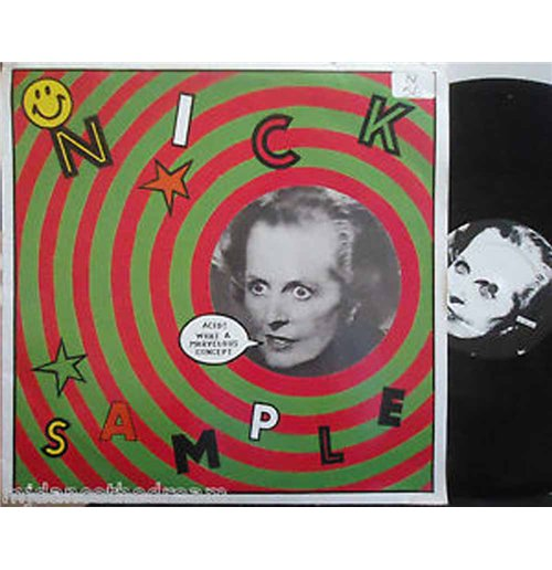 "Vynil Nick Sample - Marvelous Person (12"")"
