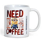 Despicable me - Minions Mug - Need Coffee