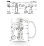Star Wars Mug - At At Sketch