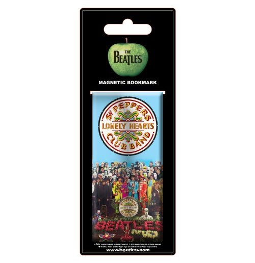 The Beatles - Sgt Pepper Magnetic Bookmark