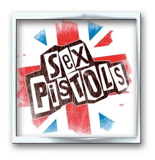 Sex Pistols - Union Jack Metal Button Badge