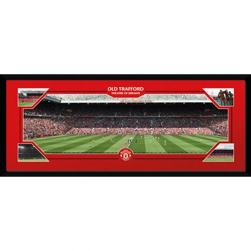 Manchester United F.C. Picture Old Trafford 30 x 12