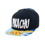 Pokemon Snap Back Baseball Cap Lightning Pikachu