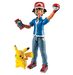 Pokemon Action Figures 2-Pack Ash & Pikachu
