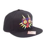 NINTENDO Legend of Zelda Unisex Majora's Mask Snapback Baseball Cap, One Size, Black