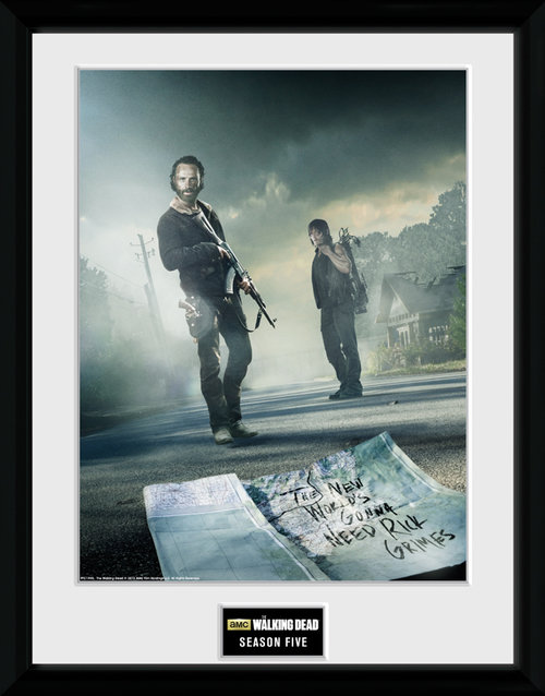 The Walking Dead Season 5 Framed Collector Print