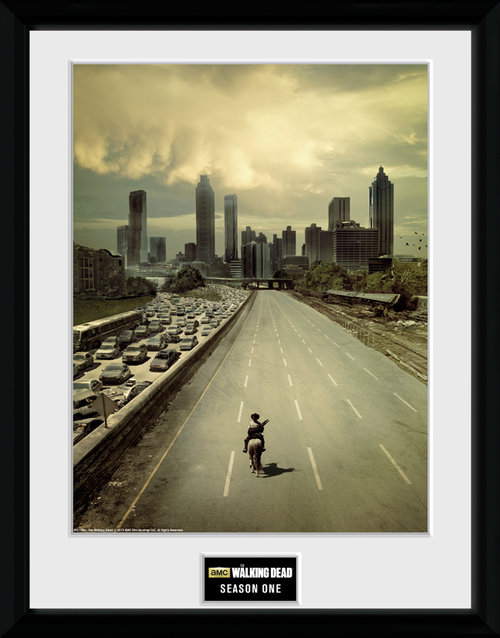The Walking Dead Season 1 Framed Collector Print