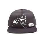 STAR WARS Unisex Darth Vader Trucker Snapback Baseball Cap, One Size, Black