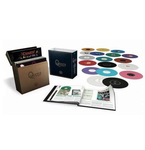 Vynil Queen - The Studio Collection (18 Lp)