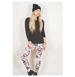Guns n' Roses Fashion Leggings: Skull & Roses