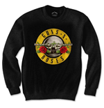 Guns N' Roses Men's Sweatshirt: Classic Logo