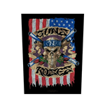 Guns N' Roses Back Patch: Flag