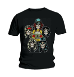 Guns N' Roses Men's Tee: Vintage Heads