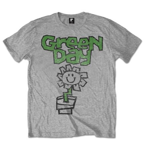 Green Day Men's Tee: Flower Pot