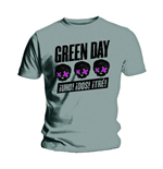 Green Day Men's Tee: Three Heads Better Than One