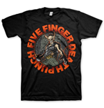 Five Finger Death Punch Men's Tee: Seal of Ameth