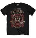 Five Finger Death Punch Men's Tee: Badge of honour