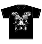 Down Men's Tee: Double Lion