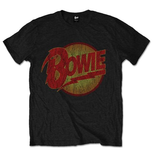 David Bowie Men's Tee: Diamond Dogs Vintage