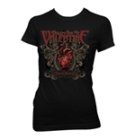 Bullet for my Valentine Women's Skinny Fit Tee: Temper Temper Filigree