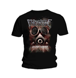 Bullet for my Valentine Men's Tee: Temper Temper Gas Mask