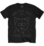 Bring me the Horizon Men's Tee: Hand Drawn Shield