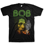 Bob Marley Men's Tee: Smoking Da Erb