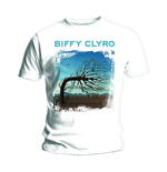 Biffy Clyro Men's Vest Tee: Opposites White