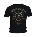 Avenged Sevenfold Men's Tee: Shield and Sickle