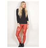 Avenged Sevenfold Fashion Leggings: Death Bat Crest