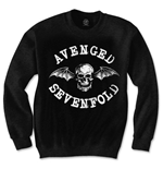 Avenged Sevenfold Men's Sweatshirt: Death Bat