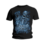 Avenged Sevenfold Men's Tee: Chained Skeleton