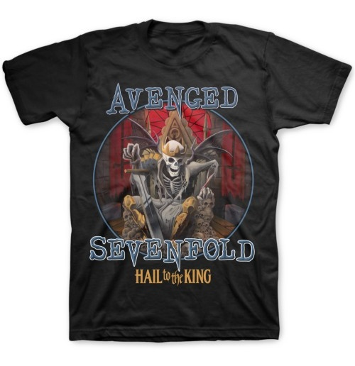 Avenged Sevenfold Men's Tee: Deadly Rule