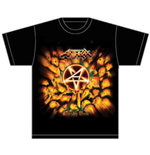 Anthrax Men's Tee: Worship Music