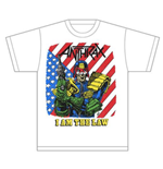 Anthrax Men's Tee: I am the Law Vintage