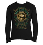 Alice Cooper Men's Long Sleeved Tee: Billion Dollar Babies Crest