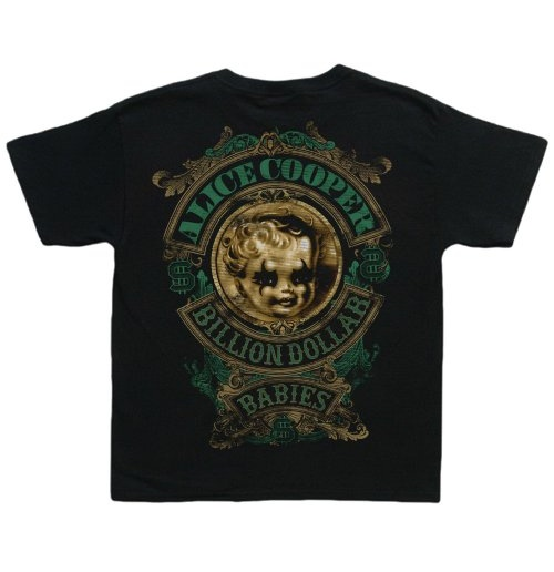 Alice Cooper Toddler's Tee: Billion Dollar Baby