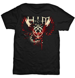 HIM Men's Tee: Wings Splatter