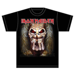 Iron Maiden Men's Tee: Eddie Candle Finger