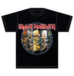Iron Maiden Men's Tee: Eddie Evolution